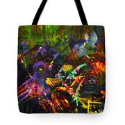 Eye In Chaos Tote Bag