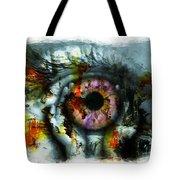 Eye In Hands 001 Tote Bag