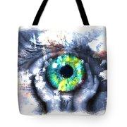 Eye In Hands 002 Tote Bag