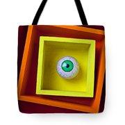 Eye In The Box Tote Bag