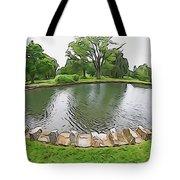 Eye Lake Tote Bag