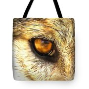 Eye Of A Wolf. Tote Bag