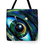 Eye Of Immortal Eternity. Timeless Space 2 Tote Bag