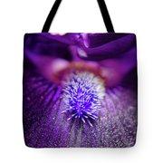 Eye Of Iris Nature Photograph Tote Bag