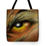 Eye Of The Beast Tote Bag