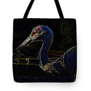 Eye Of The Crane Tote Bag