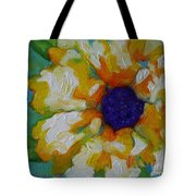 Eye Of The Flower Tote Bag