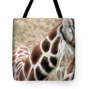 Eye Of The Giraffe. Tote Bag