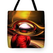 Eye Of The Gods Abstract Tote Bag