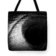 Eye Of The Peacock Feather Tote Bag