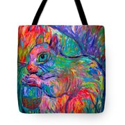Eye Of The Squirrel Tote Bag