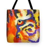 Eye Of The Tiger Tote Bag by Stephen Anderson