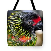 Eye Of The Tropics Tote Bag