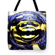 Eye Of The Turtle Tote Bag