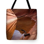 Eye Of The Wave Tote Bag
