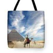 Eye On Egypt Tote Bag