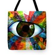 Eye To The Soul Tote Bag