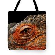 Eyeball Of Dragon Head Tote Bag by Sergey Taran