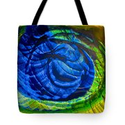 Eyeing A Storm Tote Bag