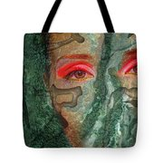 Eyes Of Emerald Tote Bag