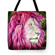 Eyes Of Fire Tote Bag