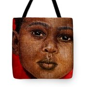 Eyes Of Innocence Tote Bag