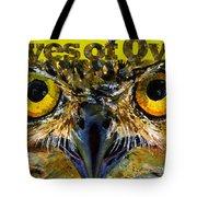Eyes Of Owls 18 Shirt Tote Bag