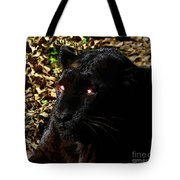 Eyes Of The Panther Tote Bag