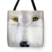 Eyes Of The Wolf Tote Bag