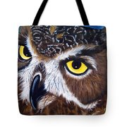 Eyes Of Wisdom Tote Bag