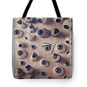 Eyes On Braille Page Tote Bag