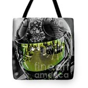Eye's On The Road Tote Bag