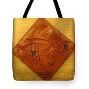 Eyes On You - Tile Tote Bag