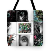Eyes Popurri Tote Bag