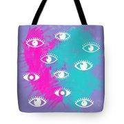 Eyes, The Look Tote Bag