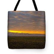 Eyjafjallajokull Sunrise Iceland Tote Bag