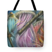 Eyo Masquerade Colorful Tote Bag