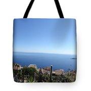 Eze's Garden Panoramic Tote Bag