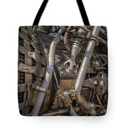 F-1 Rocket Engine Tote Bag