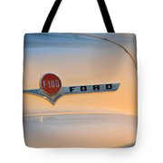 F-100 At Sunrise Tote Bag