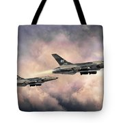 F-105 Thunderchief Tote Bag