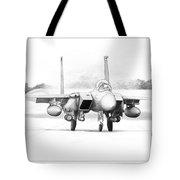 F-15e Strike Eagle Tote Bag