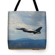 F-16 Tower Tote Bag