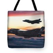 F-35b Lightning 2 Strike Fighters by Erik Simonsen