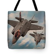 F-35's On Assignment  Tote Bag