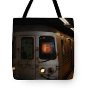 F Trian Tote Bag