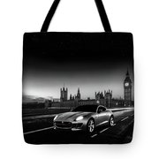 F-type In London Tote Bag