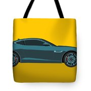 F Type Tote Bag