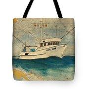 F/v Royal Dawn Tuna Fishing Boat Tote Bag