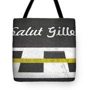 F1 Circuit Gilles Villeneuve - Montreal Tote Bag